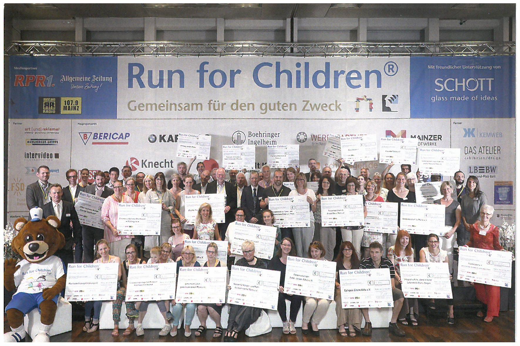 Spendenlauf Run for Children